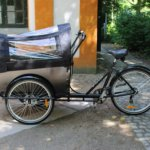Klassisk lådcykel
