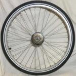 Bakhjul Lådcykel