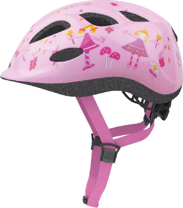 ABUS barns rosa cykelhjalm - Small