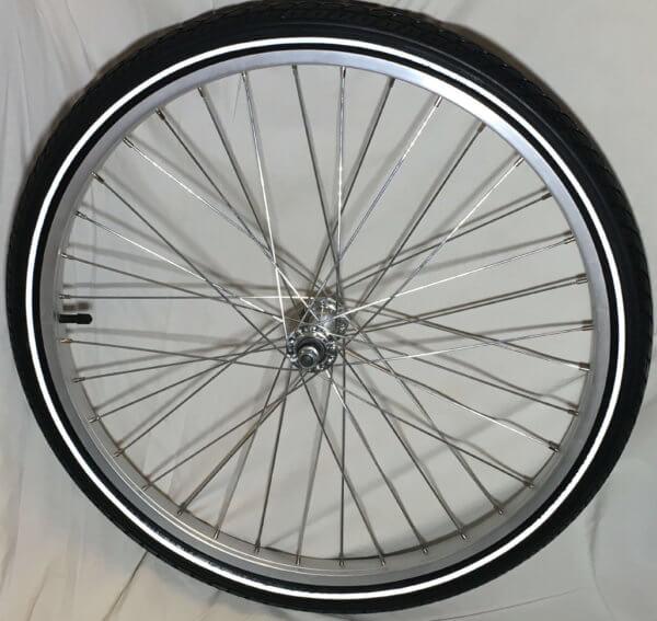 framhjul för Lådcykel