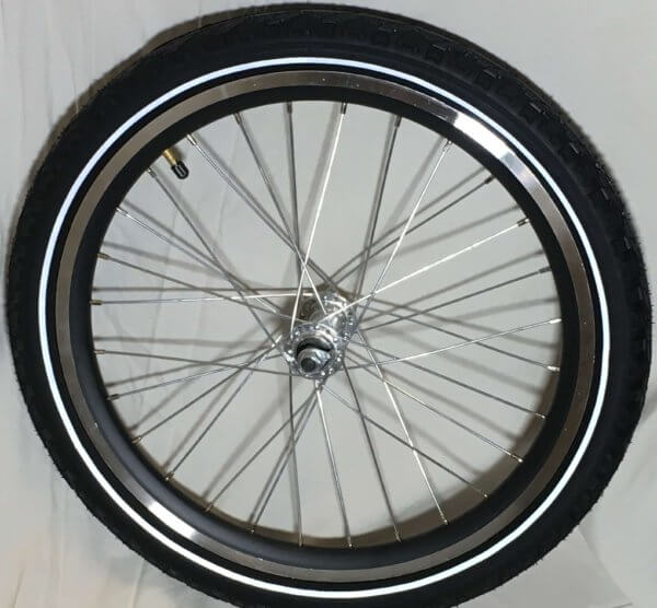 Framhjul för el Ladcykel