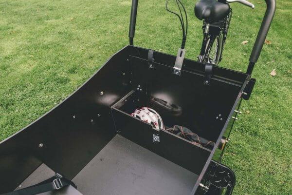Lådcykel bänk med låda