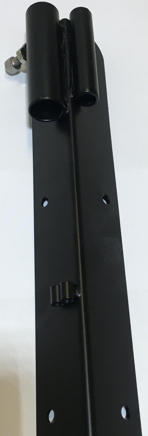 Metall hörnet lådcykel