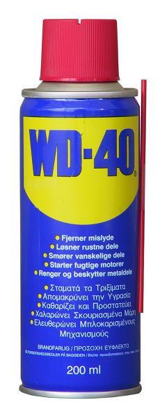 WD40 – Rost uppluckrings / fetterna enligt