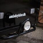 Framlampe till lådcykel Amlådcyklar