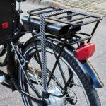 Pakethållare för El Ladcykel Amladcykler