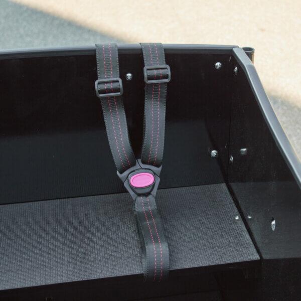 Sele för lådcykel – Trepunktsbälte (H-typ) Amladcyklar