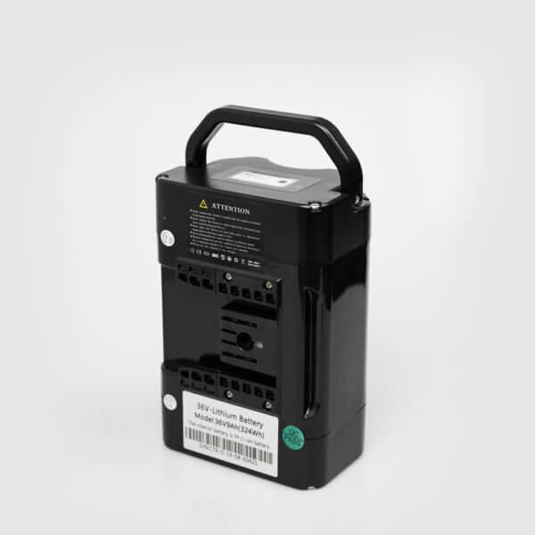 Batteri 36V – 9 ah Li-ion (Trehjuling Vuxen) Amladcyklar