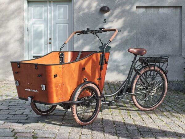 EL Lådcykel - Ultimate Harmony - lastcykel
