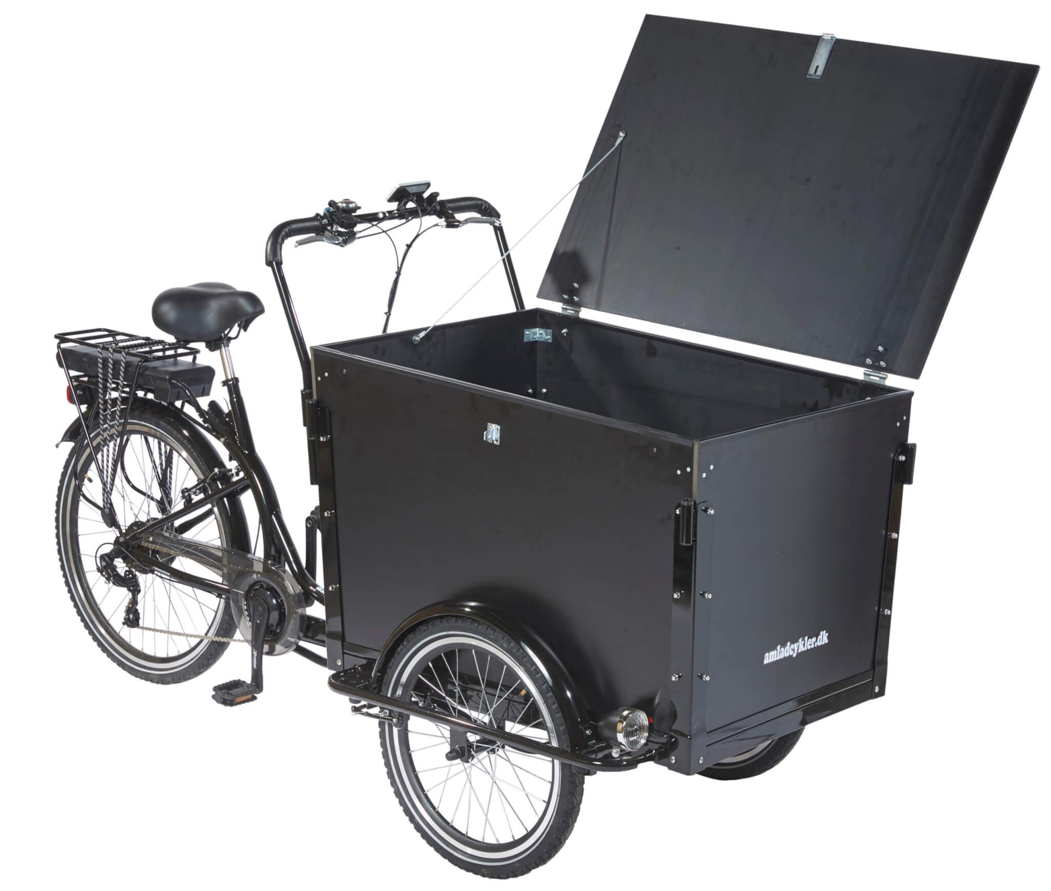 El Lådcykel - Workman - Amladcyklar